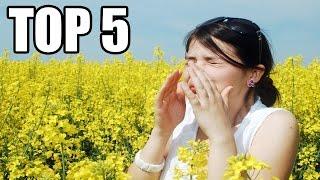 TOP 5 - Nejpodivnějších alergií