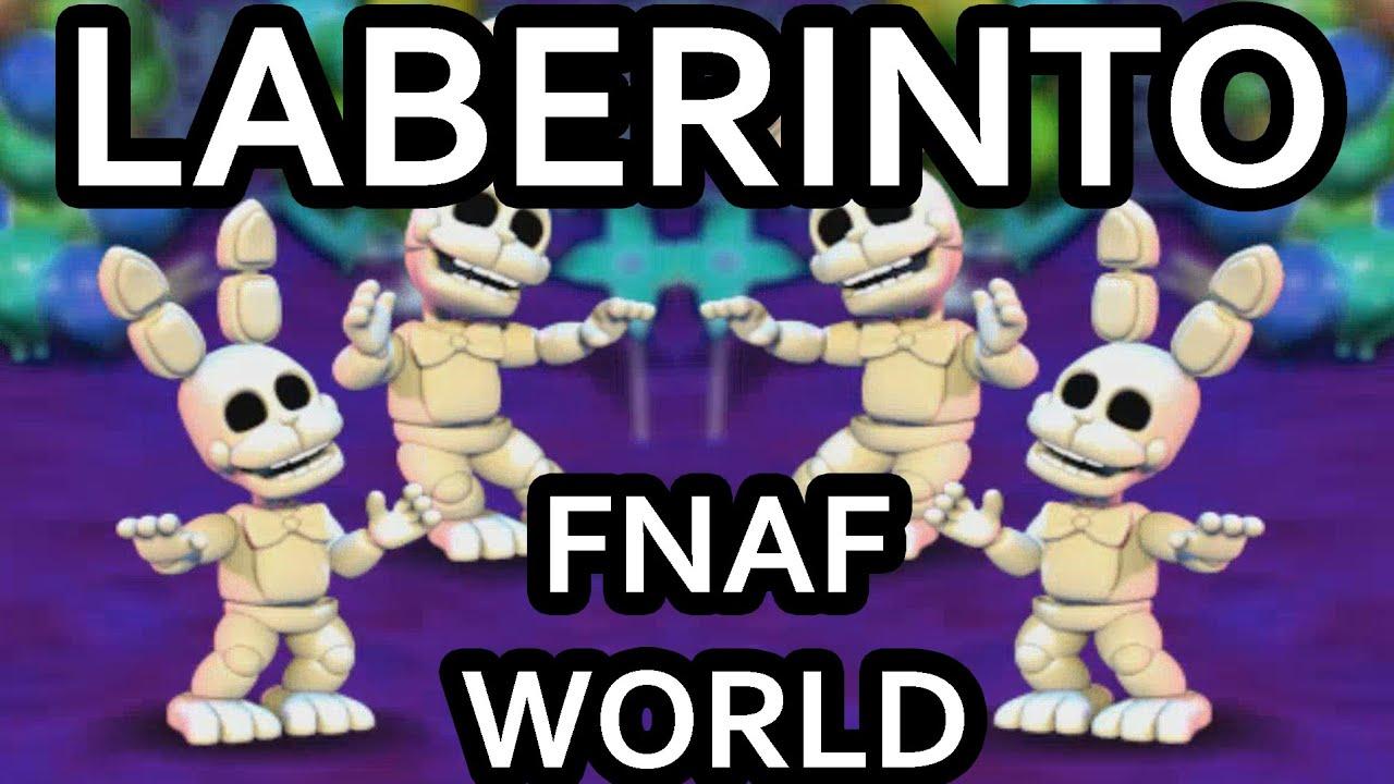 LABERINTO TRAMPA EN FNAF WORLD
