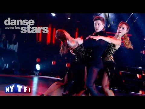 DALS S06 - Loïc Nottet, Denitsa et Silvia  dansent un tango sur ''Carmen'' (Stromae)