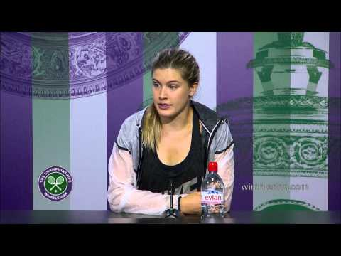 Eugenie Bouchard Post Final Press Conference