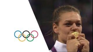 Sandra Perkovic (CRO) Wins Women's Discus Gold - London 2012 Olympics