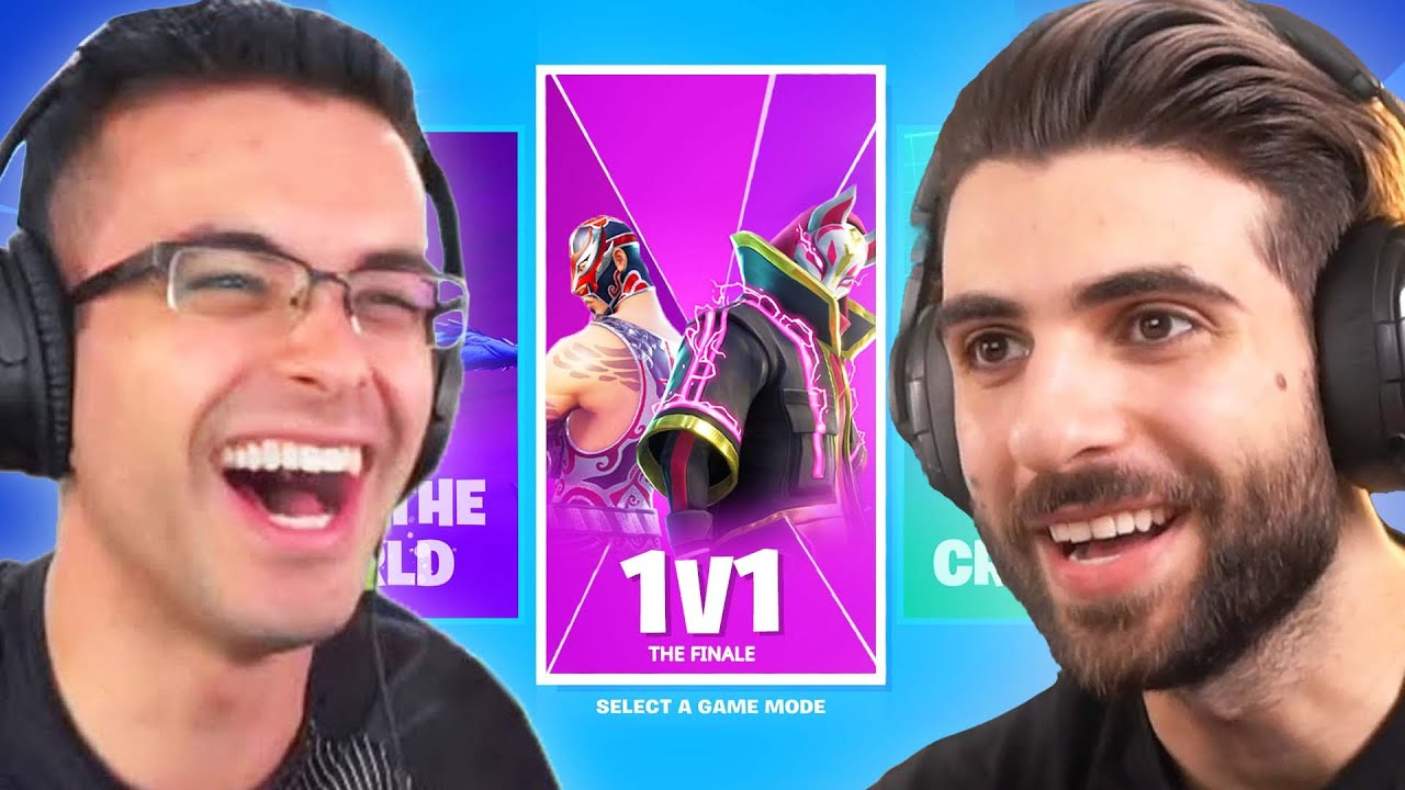 Download The Fortnite 1V1 Mode With Nick Eh 30!