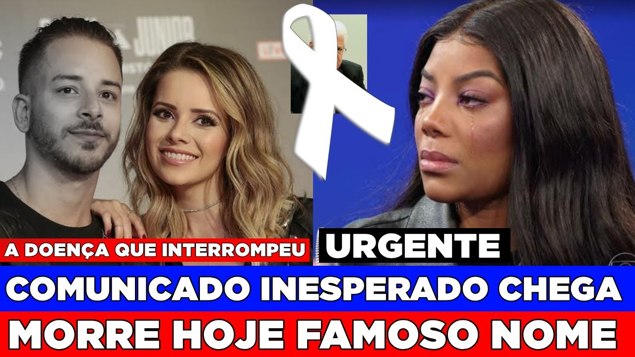 URGENTE BRASIL! SE VAI HOJE FAMOSO NOME... | JUNIOR DA DUPLA COM SANDY RELATA DOENÇA, LUDMILLA VAI..