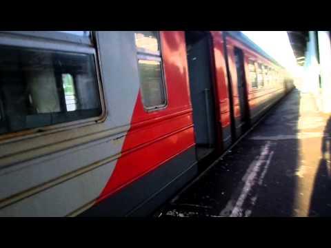 прибытие  электропоезда  калуга  москва киевская эр-2 70-97