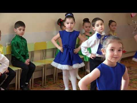 Танец твист на утреннике 8 марта. средняя группа