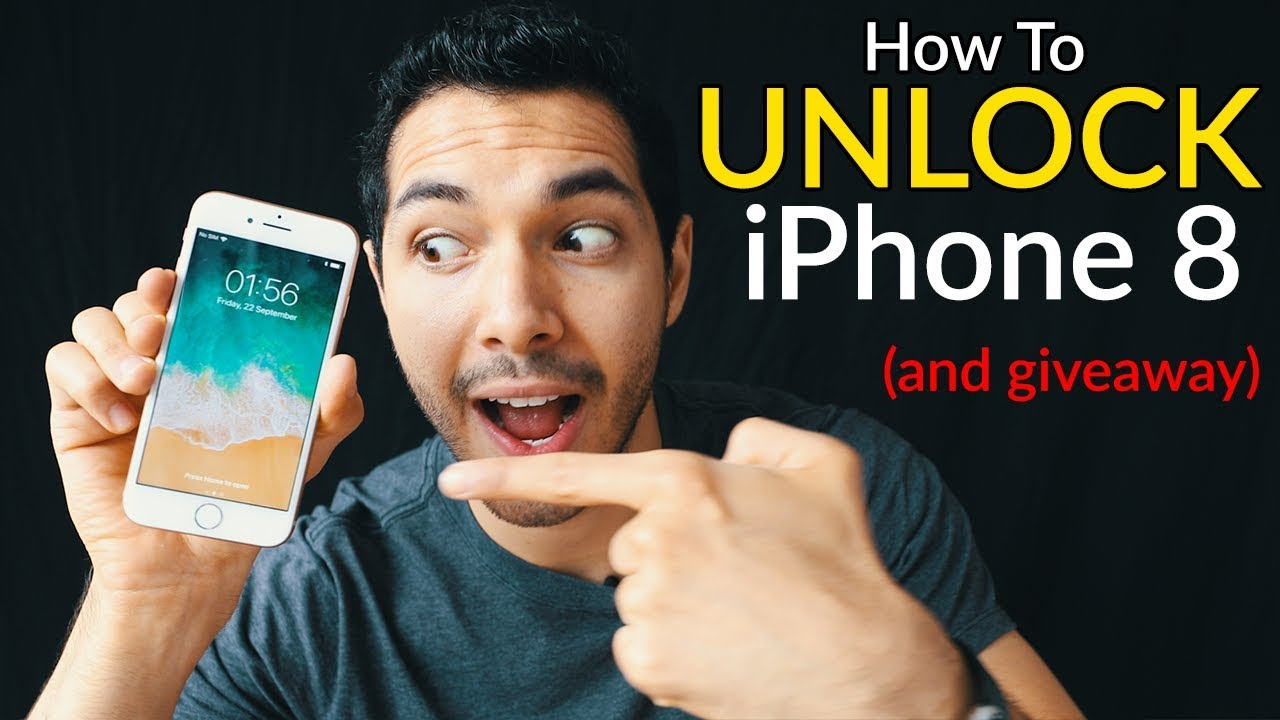 How to unlock iphone 8