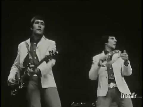 Les Troggs au Palais des Sports de Paris  1967