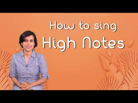 Ep #55 | How to sing high notes easily?