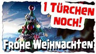 1 TÜRCHEN NOCH - FROHE WEIHNACHTEN | Clash of Clans Deutsch [German] | Let´s Play COC