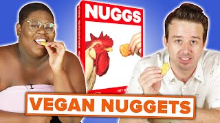 Chicken Nugget Lovers Try Vegan Nuggets