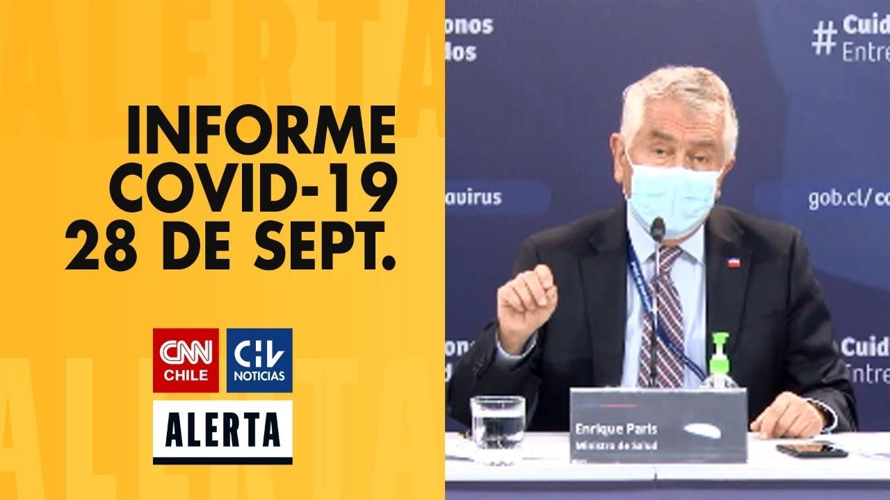 COVID-19 en Chile - 28 de Septiembre - #AlertaCNNCHV
