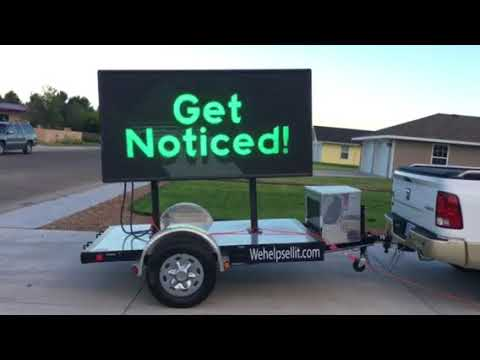 Mobile Digital Billboard Marketing and Advertising Business