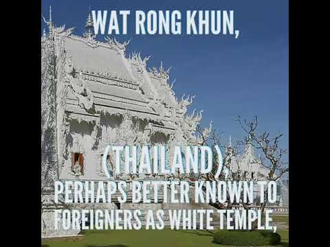 Most Unusual Temple,wat Rong khun, Thailand