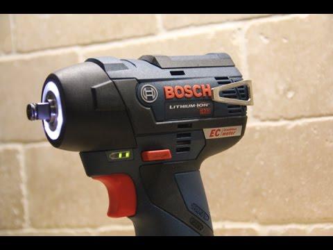 Bosch 12 Volt Brushess Impactors