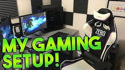 My Gaming Setup! [WoW Gaming/Video Making Setup]