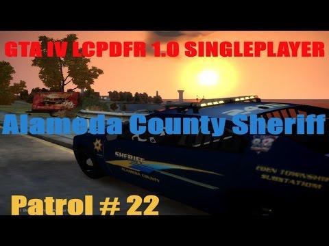 GTA IV lcpdfr 1.0 Singleplayer: Alameda County Sheriff Patrol #21