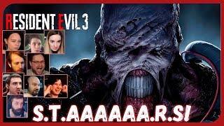 Реакции Летсплейщиков на Немезиса (Часть 1) из Resident Evil 3: Raccoon City Demo