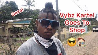 Vybz Kartel Goes To Shop | @nitro__immortal