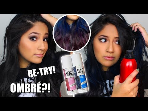 (2nd-try!!)-does-loreal-colorista-spray-work-on-dark-hair-(does-hairspray-help?)
