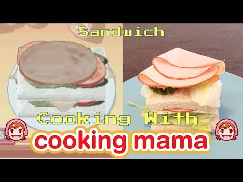 Sandwich | Cooking with Cooking Mama!