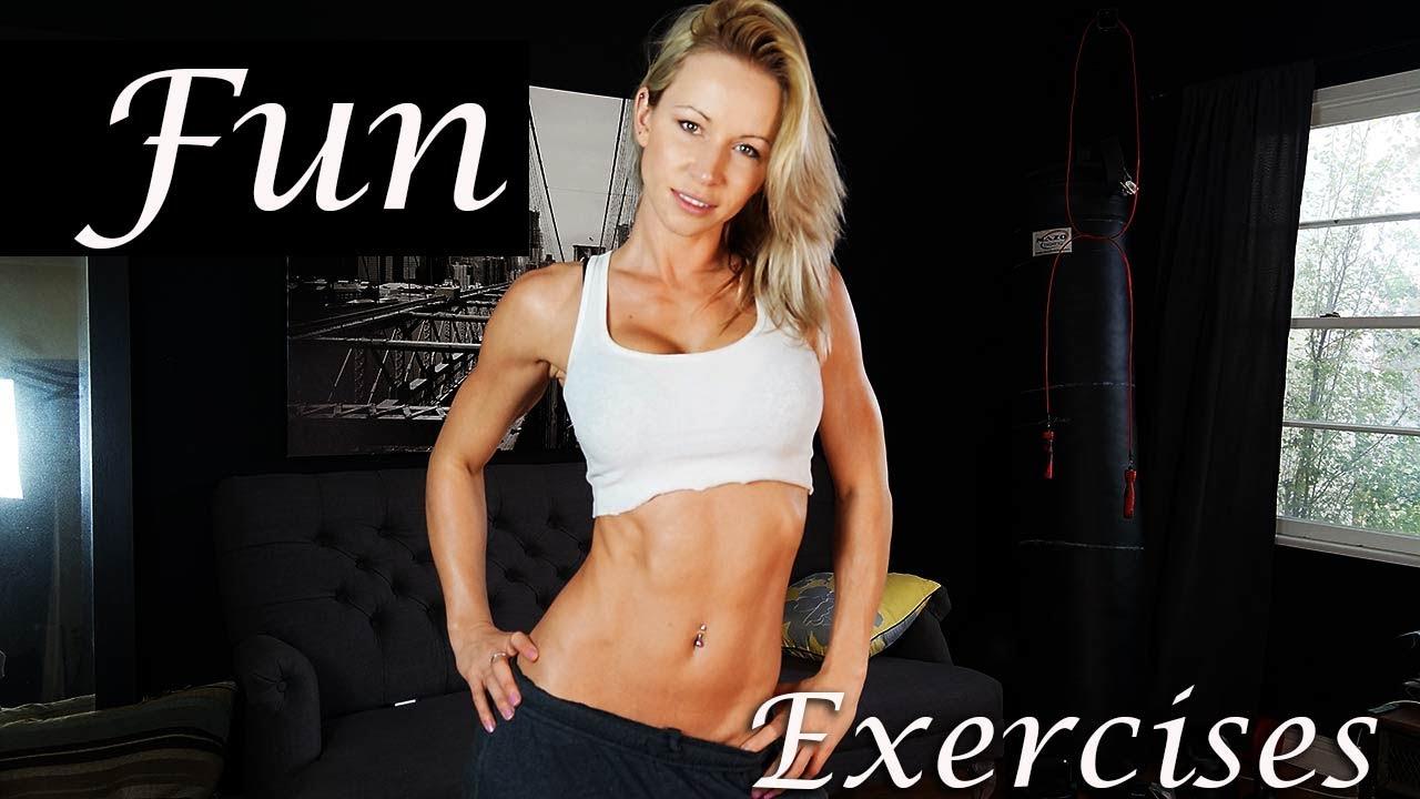 Persuasión corazón Blanco  3 Fun Exercises For Super Fit Body - YouTube