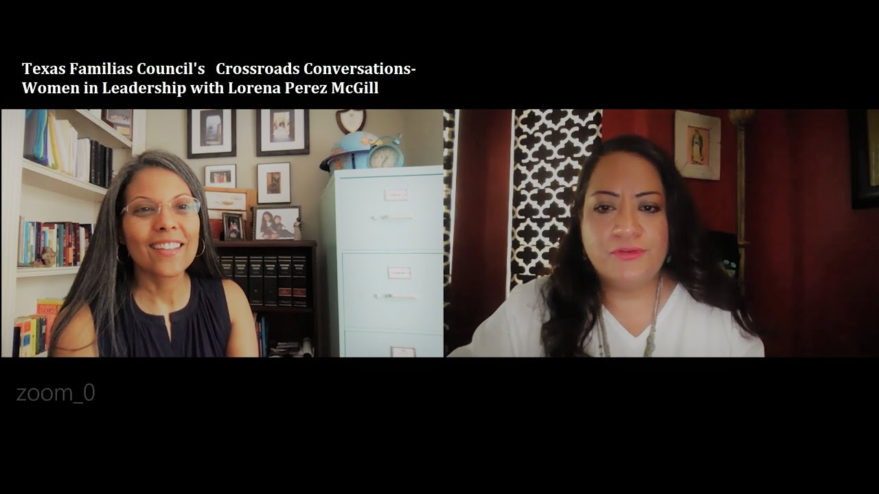 Women in Leadership- Crossroads Conversations with Lorena Perez McGill