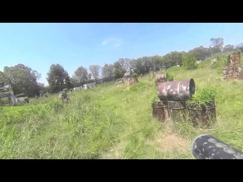 Paintball | GoPro 3 Slowmotions | BattleZone South Africa
