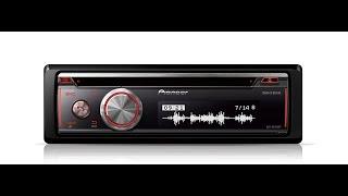 Магнітола піонер DEH-X8700BT з Bluetooth, CD, USB і AUX-вхід. Підтримує iPod/iPhone/Android