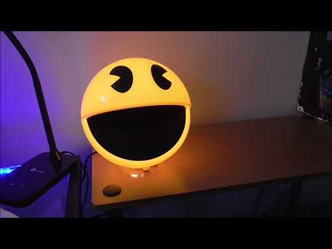Schylling Pac-Man Lamp Unboxing