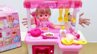 メルちゃんのキッチン / Mell-chan Doll Kitchen Toys For Kids thumbnail