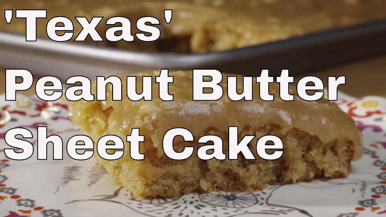 All Recipes Peanut Butter Sheet Cake