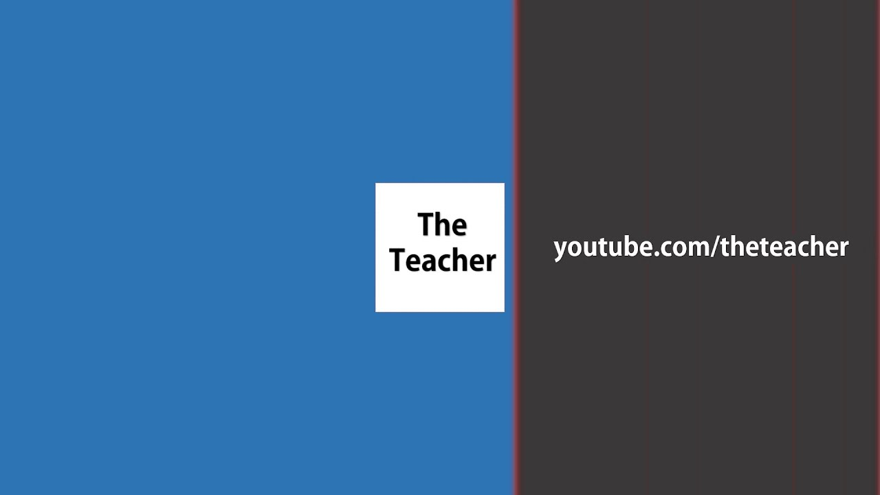 the 3 rectangles youtube intro template | motion graphics, Modern powerpoint