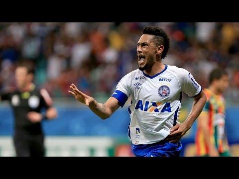 Bahia 1 X 0 Sampaio Corrêa. Gol de Hernane. (8/11/2016)