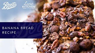 Boots X Livia's Kitchen | Banana Bread Recipe (Vegan and Gluten Free)