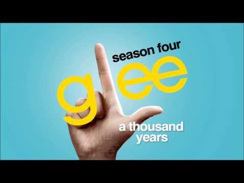 A Thousand Years - Glee [HD Full Studio]