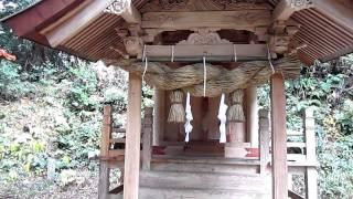 嵩神社の風景 島根県安来市