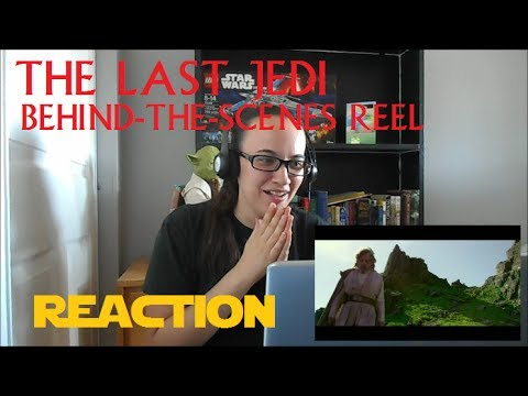 """The Last Jedi"" Behind-the-Scenes Reel Reaction **Emotional**"