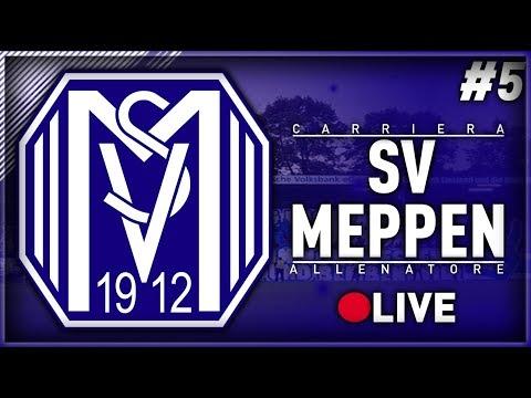FIFA 18 - CARRIERA ALLENATORE SV MEPPEN IN LIVE #5 - ALLA RICERCA DEL GOL PERDUTO