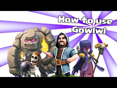 Clash of clans lets play - Clash of clans - How to use the Gowiwi Attack Strategy!