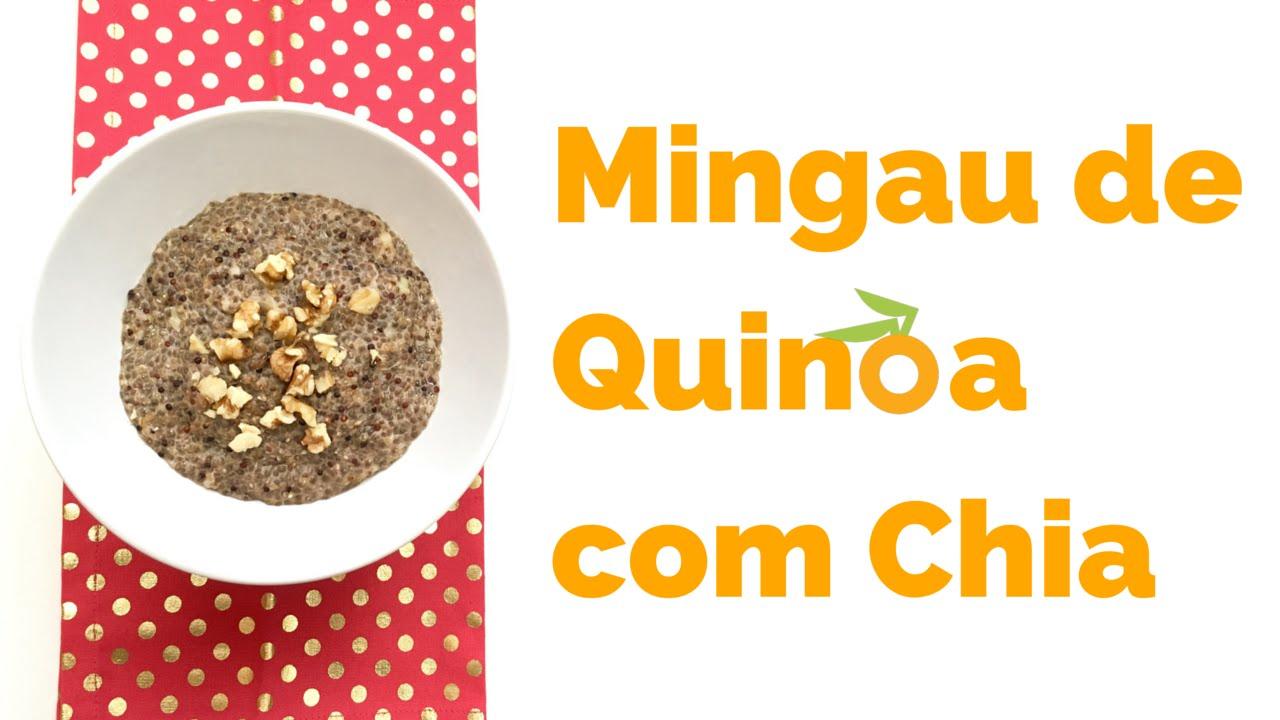 Mingau de Quinoa com Chia