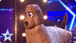 Meet Dudley: The DANCING DOG! | Auditions | BGT 2018