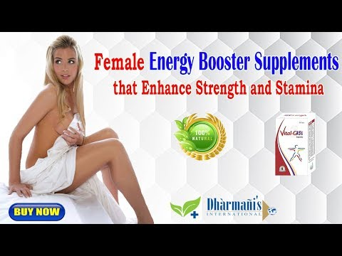 Female Energy Booster Supplements that Enhance Strength and Stamina
