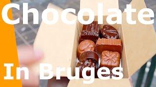 Best Chocolate shops in Bruges Belgium