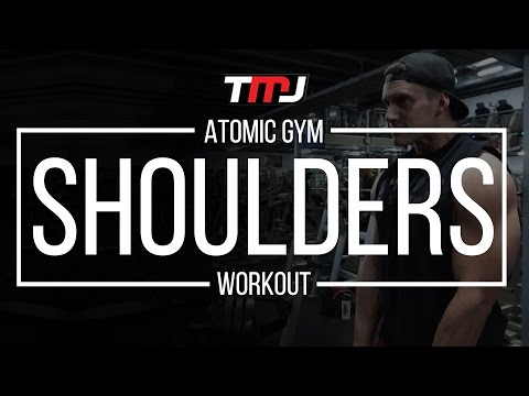 Shoulders Workout | In The Gym With Team MassiveJoes | Atomic Gym Melbourne | 22 Feb 2017
