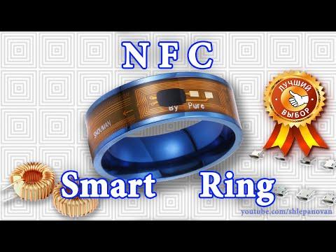 Посылки из Китая - NFC Smart Ring Обзор Тест + разъемы Micro Usb.