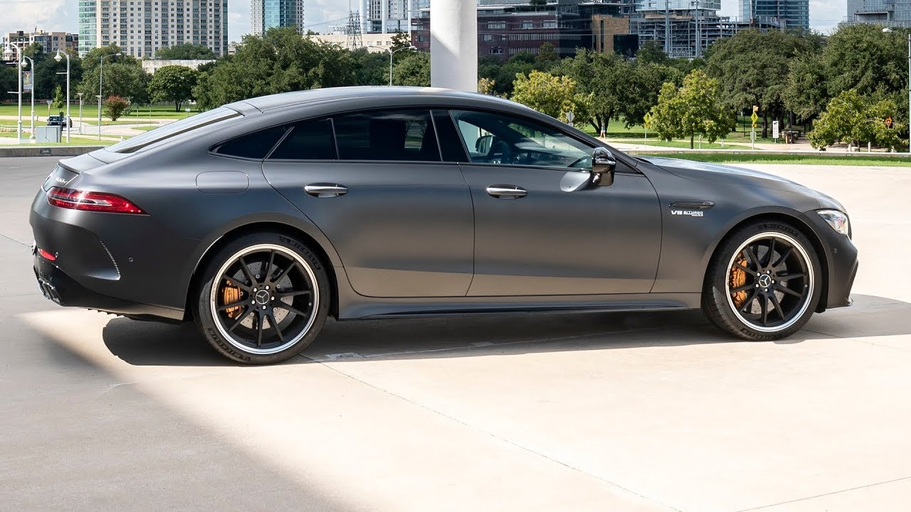 2019 Mercedes-AMG GT 63 S - The World's Four-Door Fastest ...