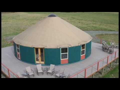 Ask A Yurt Dweller Roughing It In A 40 Yurt Youtube