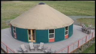 Ask a Yurt Dweller: Roughing it in a 40' Yurt
