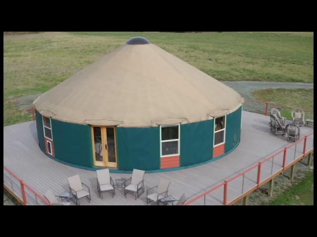 Ask a Yurt Dweller: Roughing it in a 40 Yurt