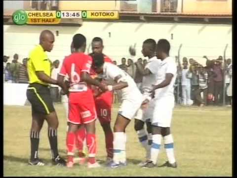 ERIC BEKOE (NO. 18) GOAL AGAINST KOTOKO IN THE GHANA PREMIER LEAGUE
